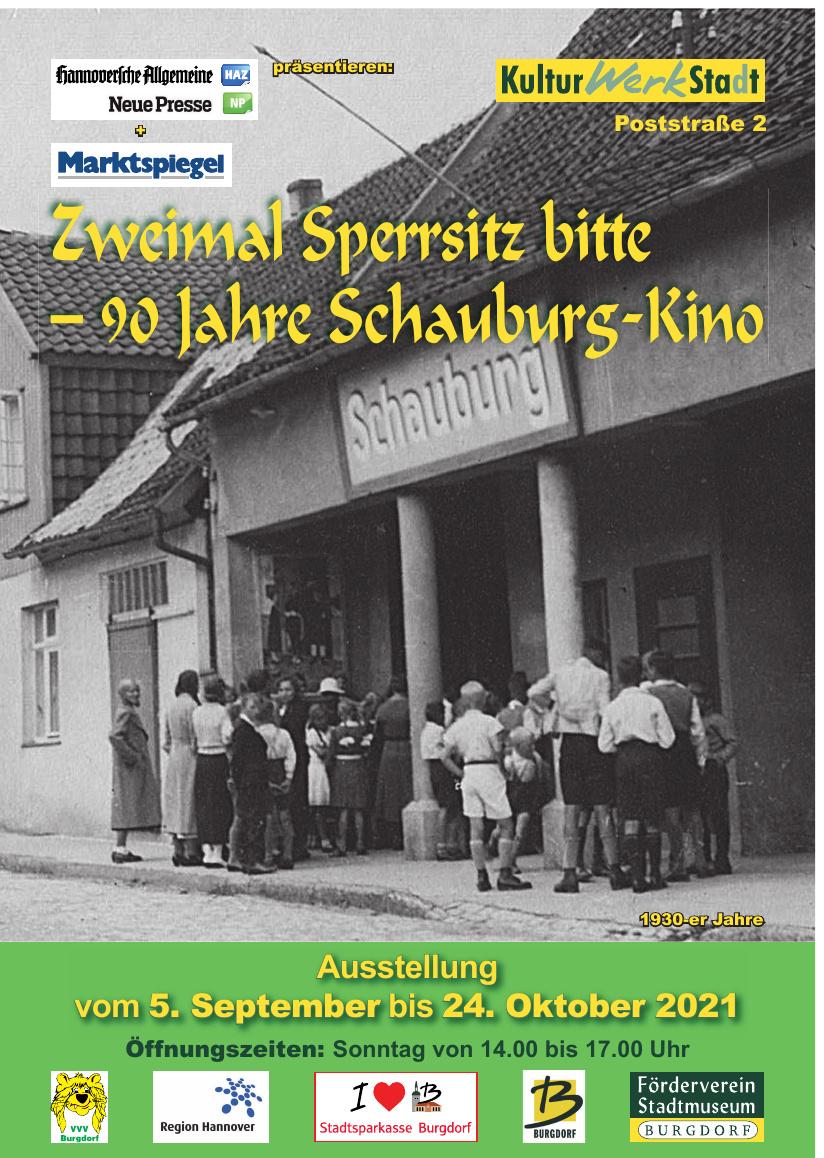 Zweimal Sperrsitz bitte — 90 Jahre Schauburg-Kino