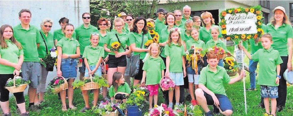 Die Mitglieder des Obst- und Gartenbauvereins Marlesreuth fiebern bereits ihrer Teilnahme am Festzug zum Nailaer Heimat- und Wiesenfest entgegen. Foto: S. H.