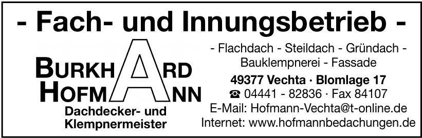 Hofmann Burkhard