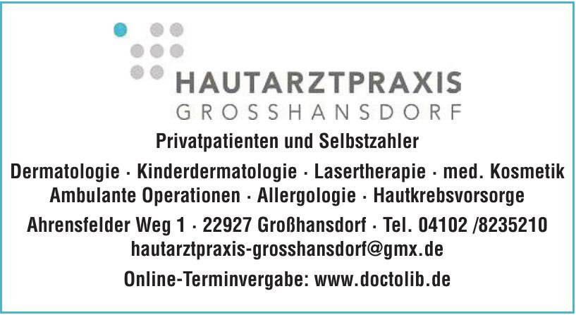Hautarztpraxis Grosshansdorf