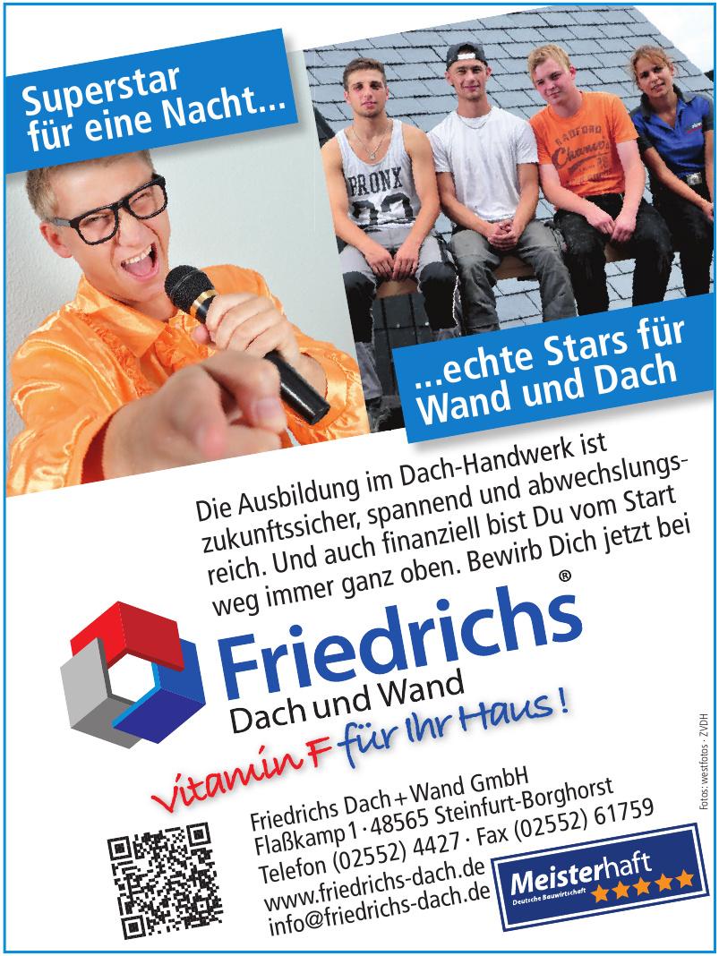 Friedrichs Dach und Wand GmbH
