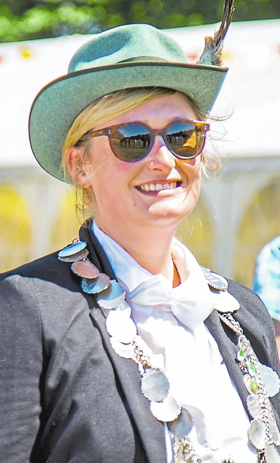 Victoria Whiley sicherte sich 2018 den Titel der Jungschützenkönigin. Fotos: Siedlergemeinschaft Gievenbeck
