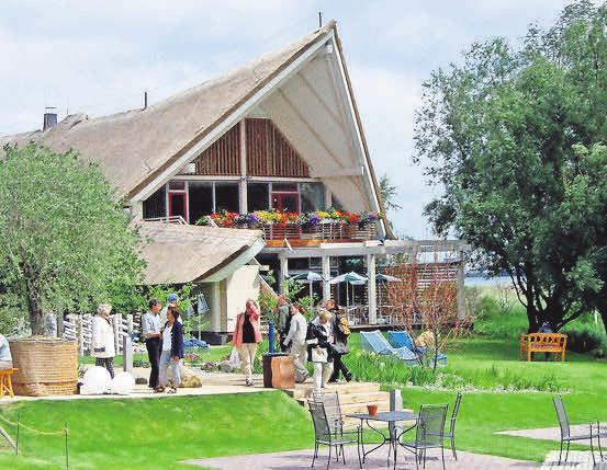 Für das Mecklenburger Hallenhaus in Rostock wird ein neuer Gastronom gesucht. FOTO: IGA PARK