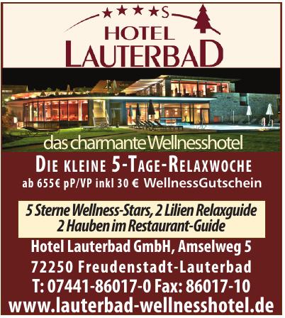 Hotel Lauterbad GmbH