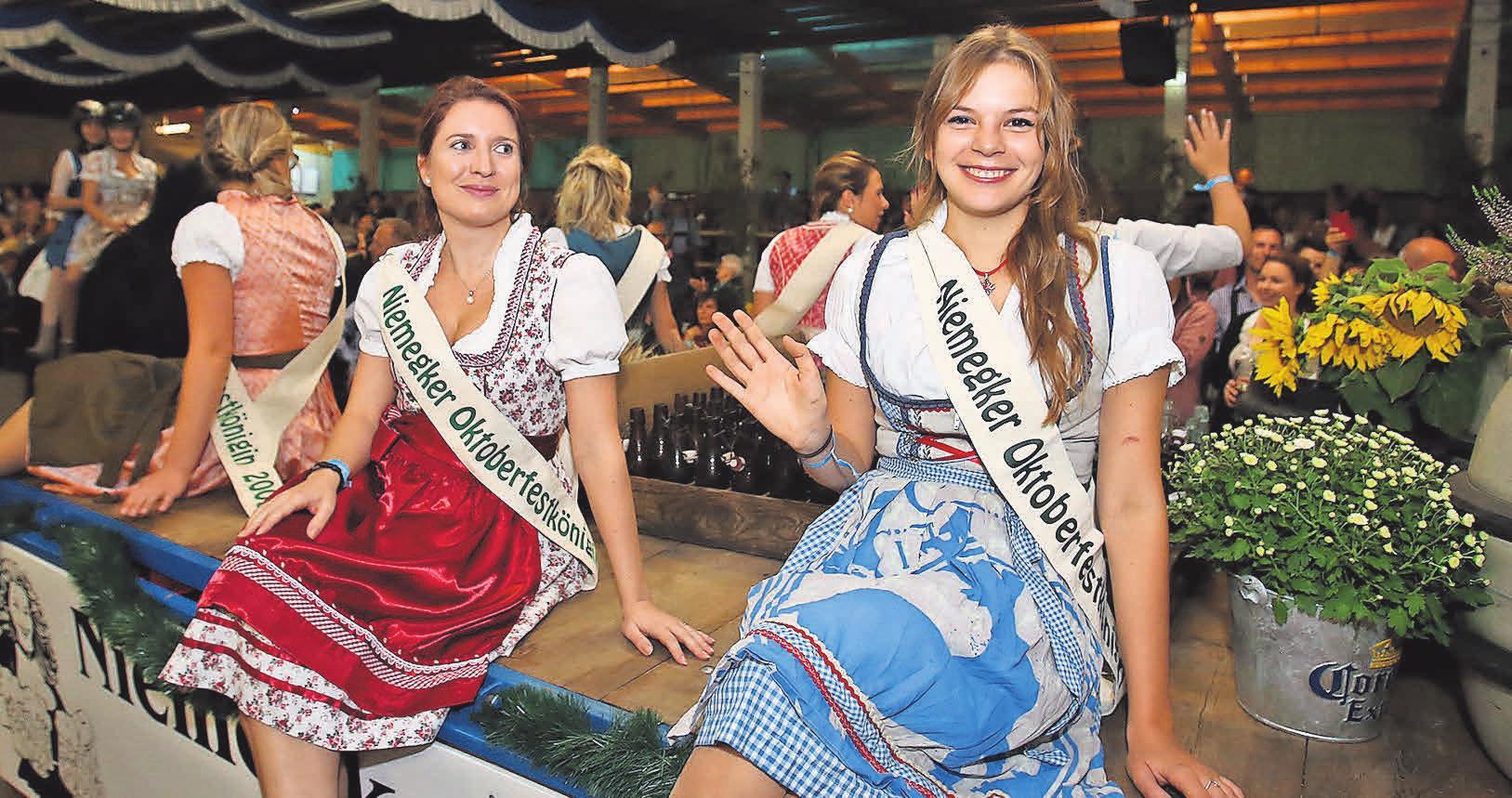 Oktoberfestköniginnen der vergangenen Jahre: 2019 wird ein weiteres Mädchen gekrönt.