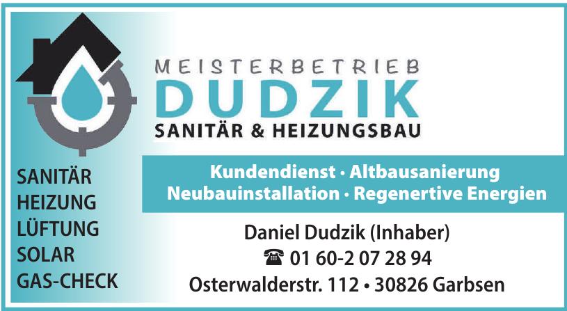 Meisterbetrieb Dudzik Sanitär & Heizungsbau