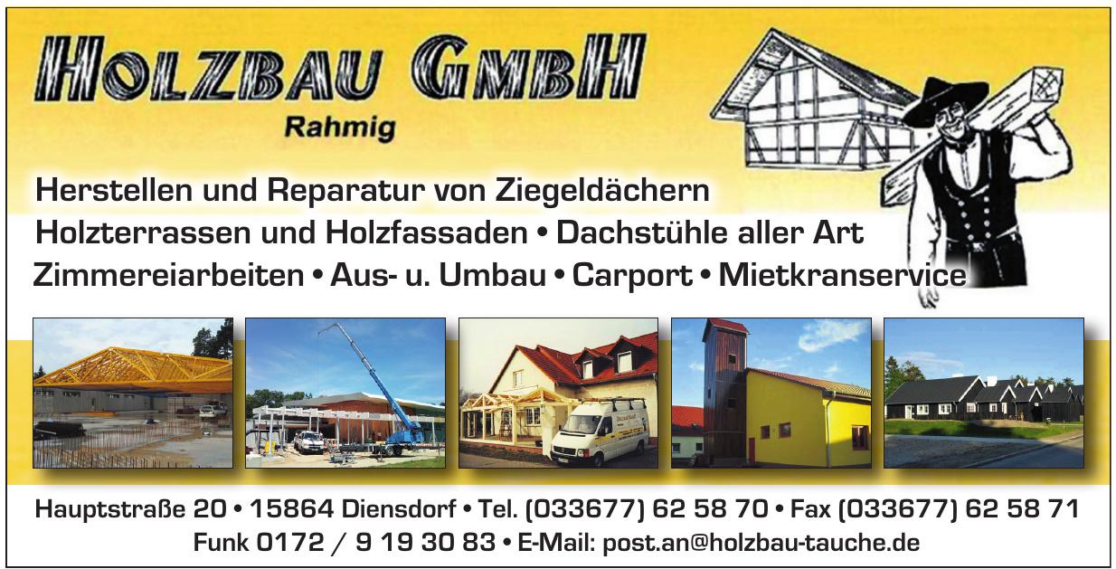 Holzbau GmbH Rahmig