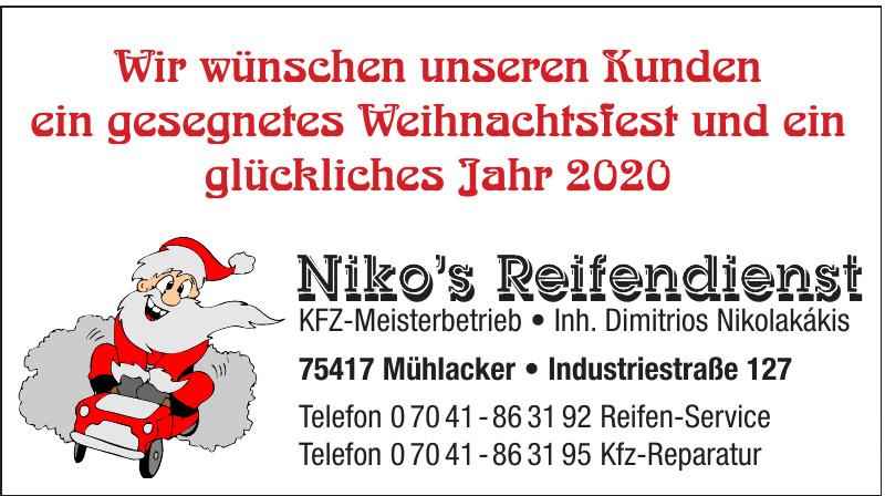 Niko's Reifendienst