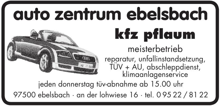 auto zentrum ebelsbach