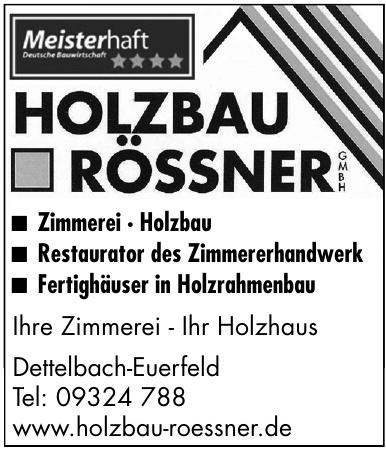 Holzbau Rössner GmbH