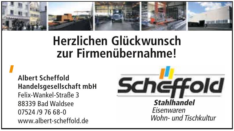 Albert Scheffold Handelsgesellschaft mbH