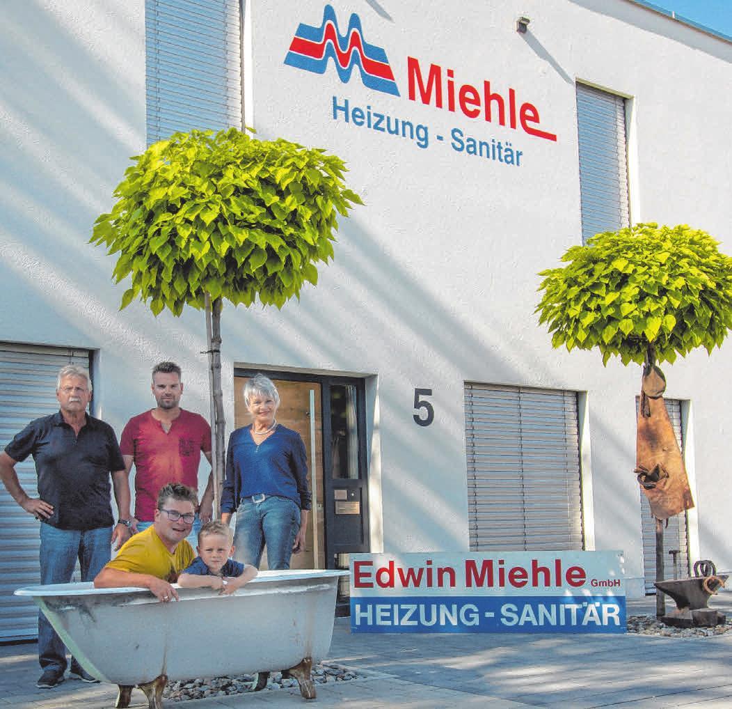 Die Firma Miehle ist ein Familienunternehmen.        FOTO: PRIVAT