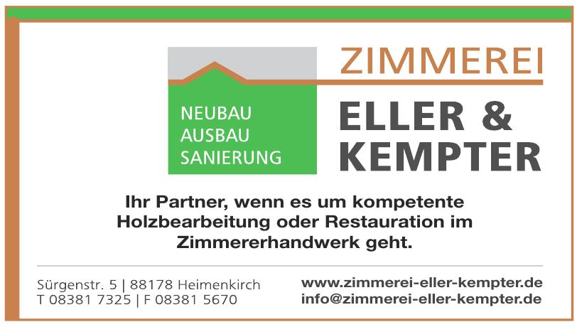 Zimmerei Eller & Kempter GmbH