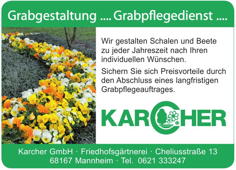 Karcher GmbH - Friedhofsgärtnerei