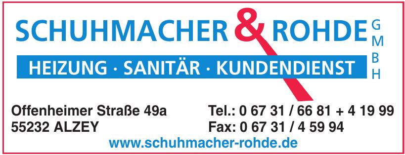 Schuhmacher & Rohde GmbH