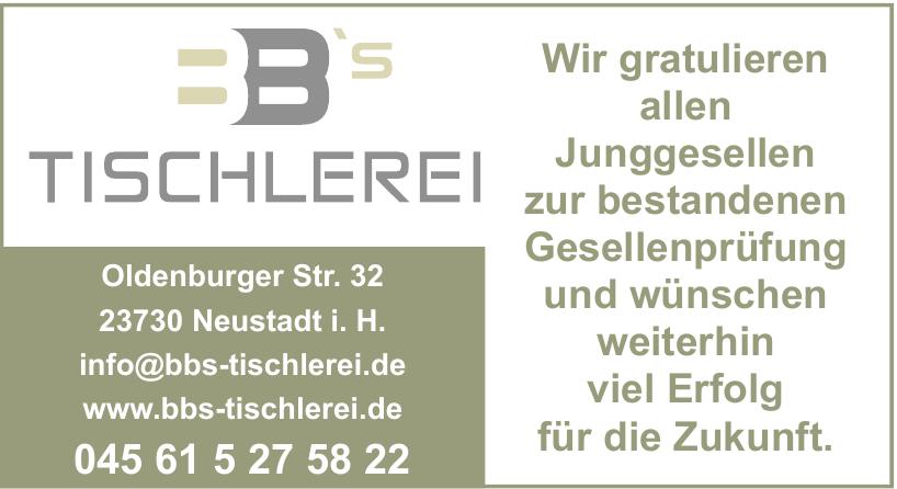 BB'S Tischlerei