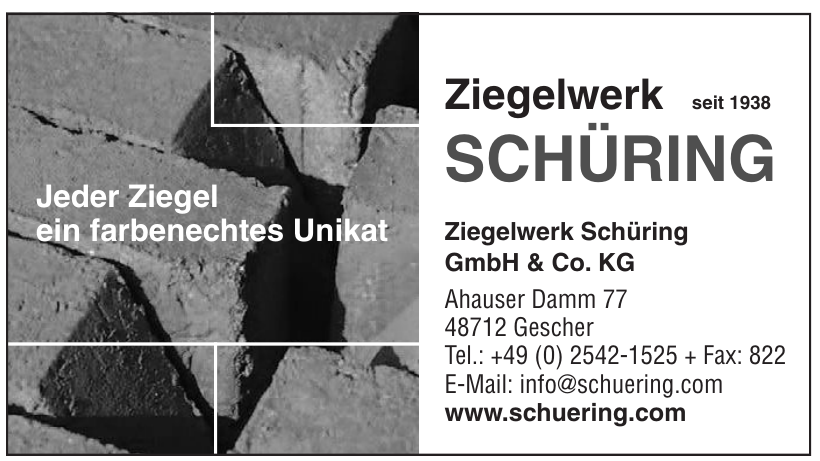 Ziegelwerk Schüring GmbH & Co. KG