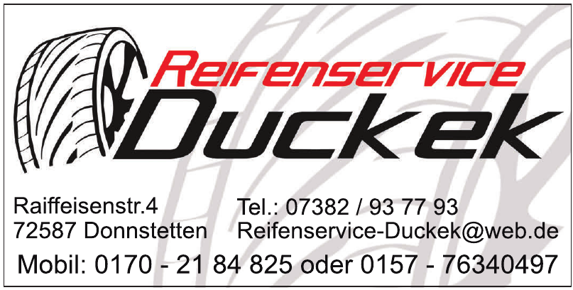 Reifenservice Duckek