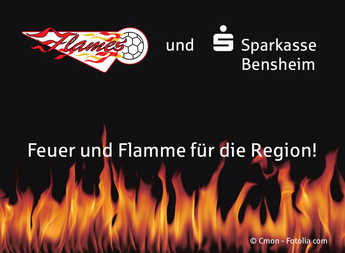 Flames und Sparkasse Bensheim