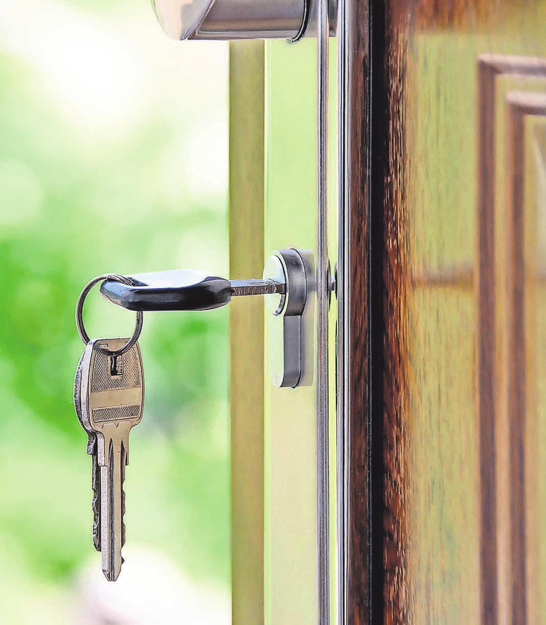 Mit moderner Haustürtechnik sind herkömmliche Schlüssel nicht mehr nötig. Foto: Pexels.com