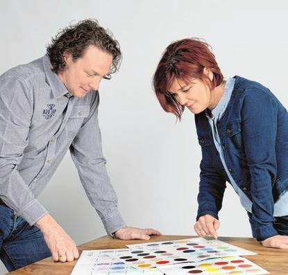 Die Plameco-Spezialisten: Eva und Markus Merkle.