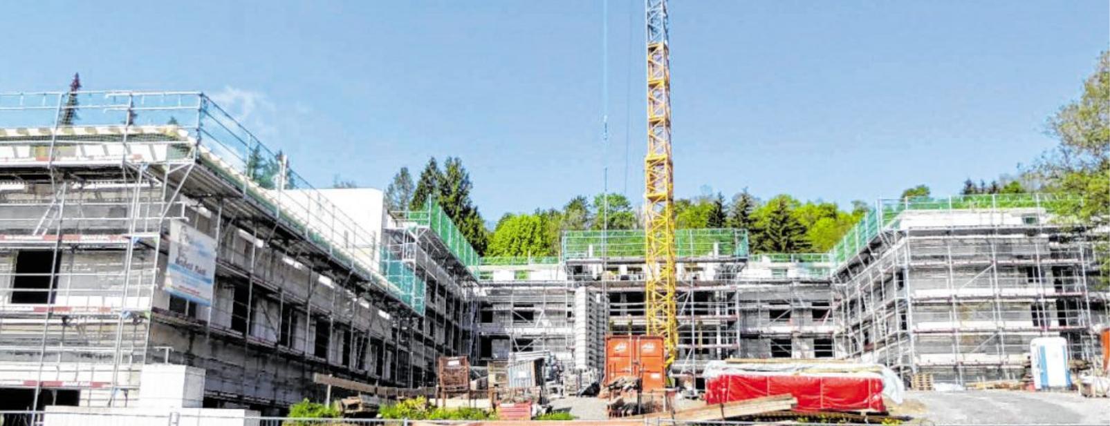 Der Neubau entsteht ebenfalls im Erlenbachtal, unweit des jetzigen Standorts. BILD: HAUS AM SONNENBERG/SASCHA BICKEL