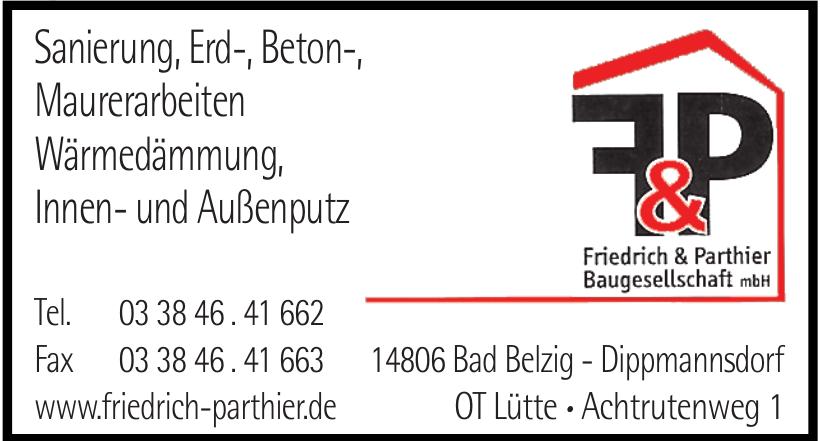 F & P Friedrich Parthier Baugesellschaft mbH