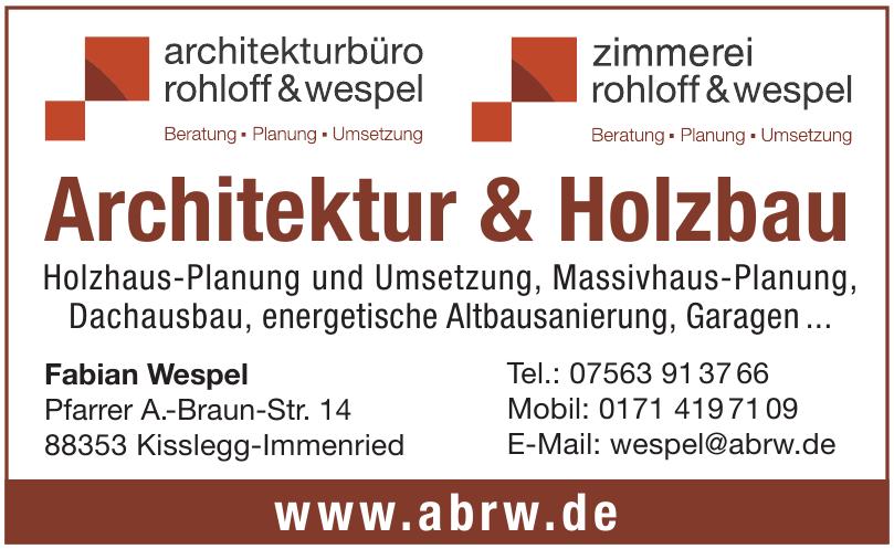 Architekturbüro Rohloff & Wespel