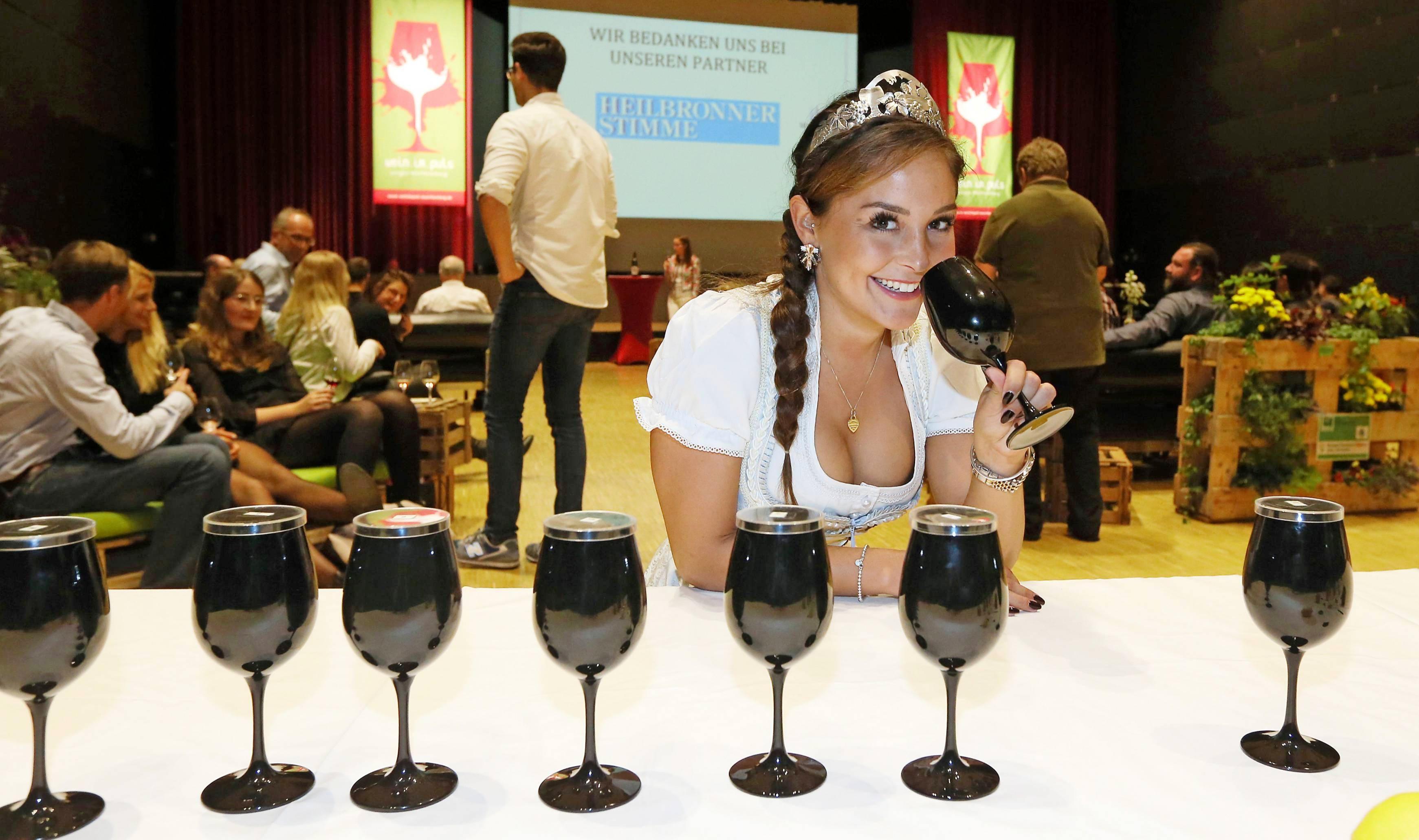 Bei der Weinshow gibt es auch Seminare mit Weinhoheiten sowie den ersten Stimme-Wein-Publikumspreis. Foto: Veigel