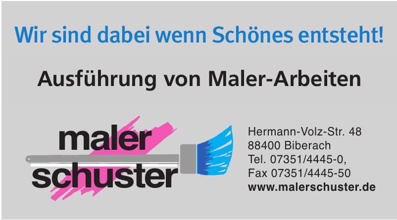 Maler Schuster