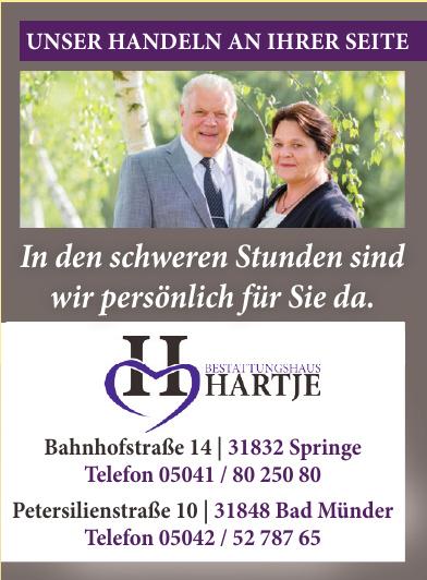 Bestattungshaus Hartje