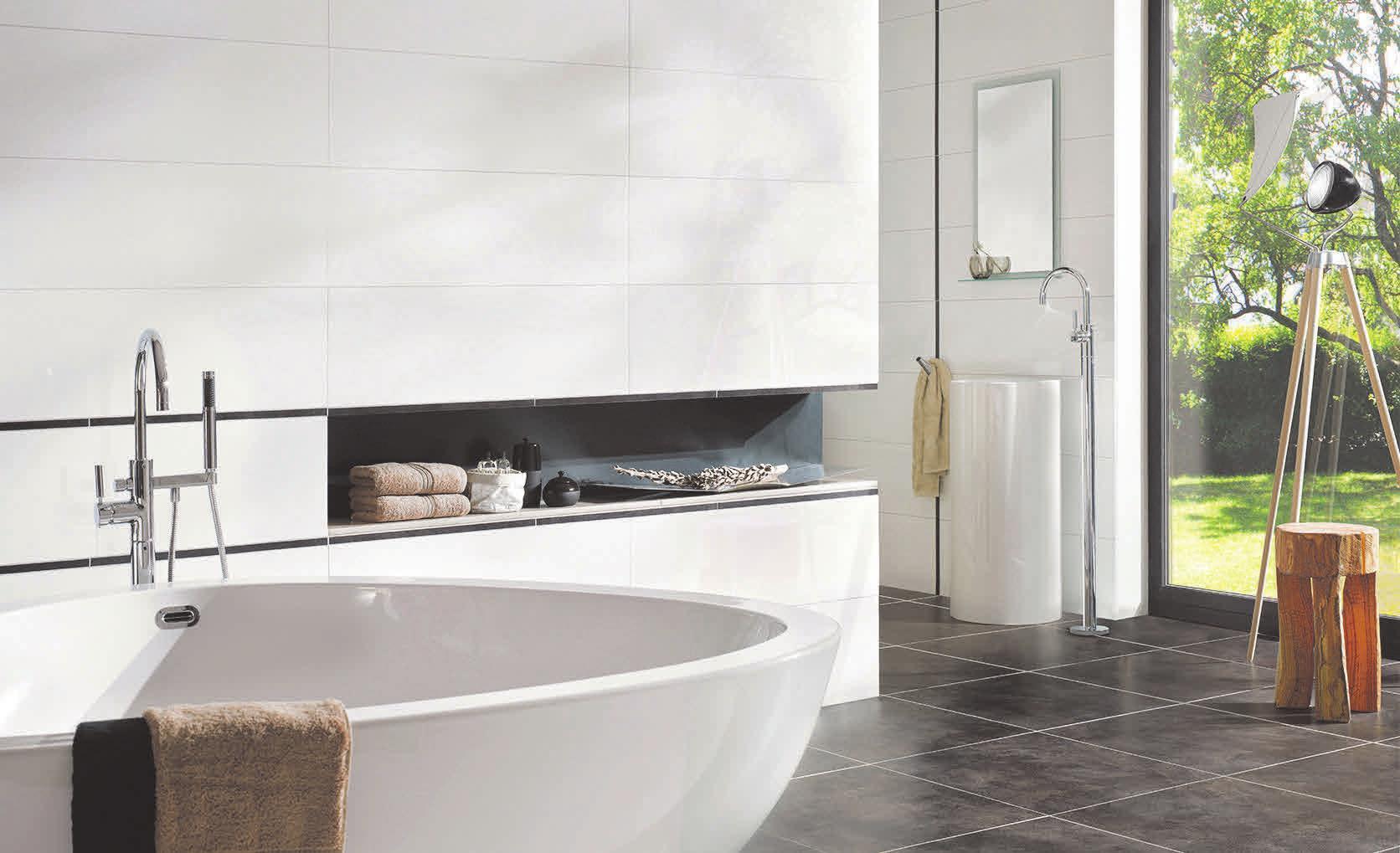 Wohlfühloase Bad mit allem Komfort. Fotos: privat