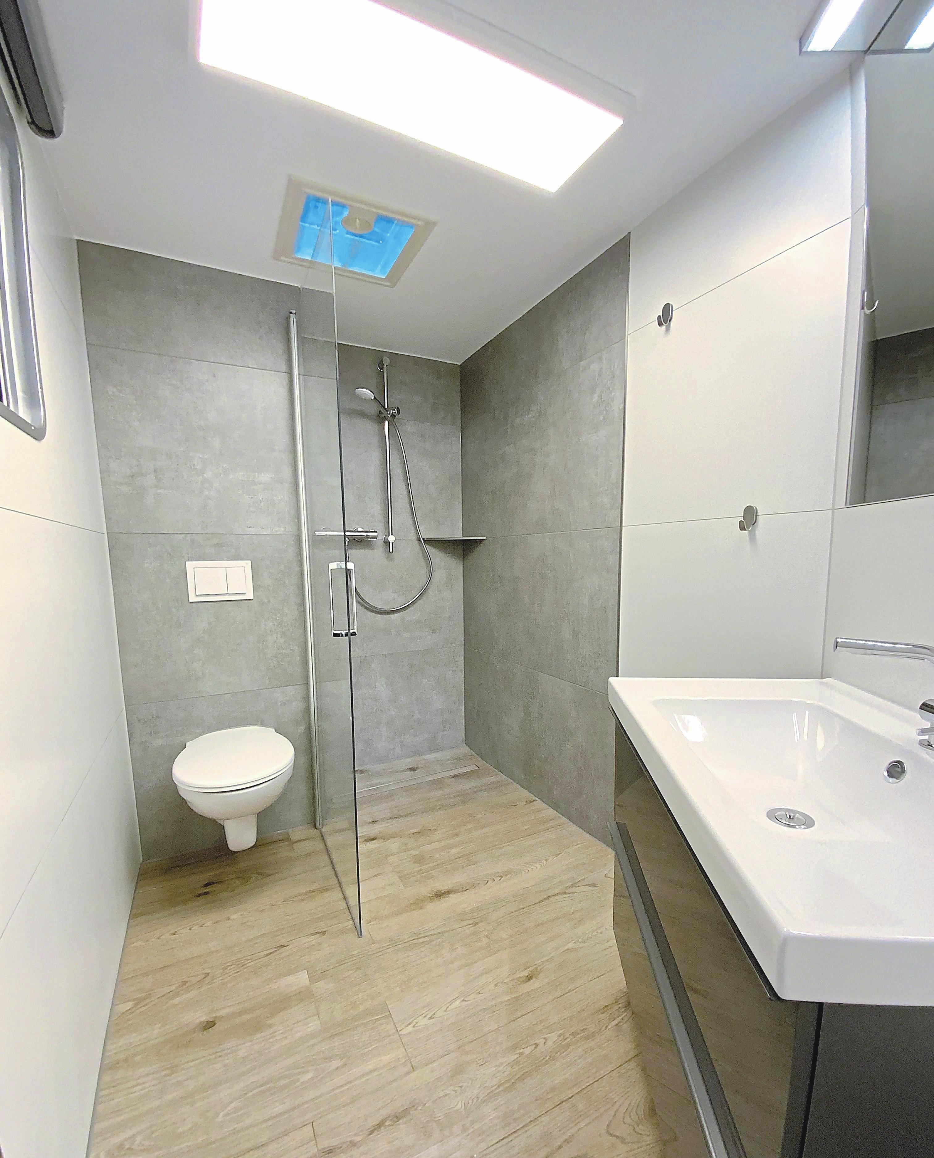 Mobiles Badezimmer Fur Die Baustelle Lokales Westfalische Nachrichten