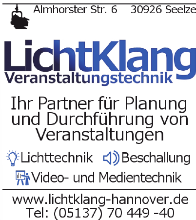 LichtKlang Veranstaltungstechnik