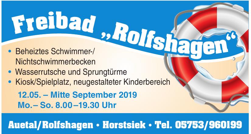 """Freibad """"Rolfshagen"""