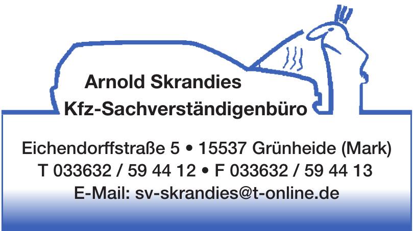 Arnold Skrandies Kfz-Sachverständigenbüro