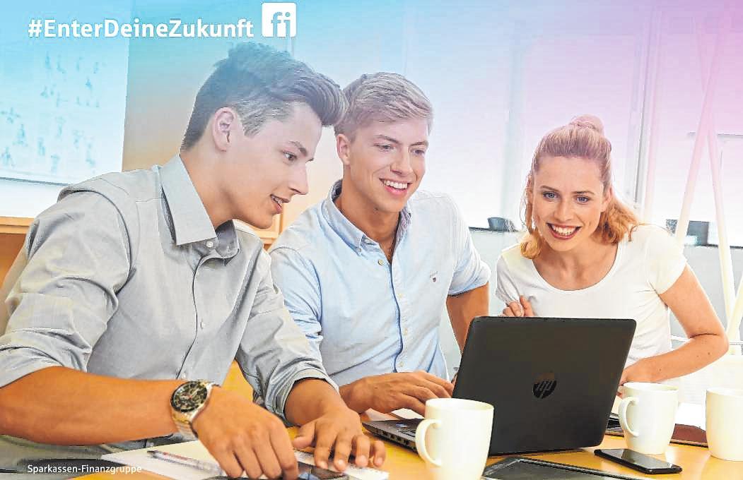Enter Deine Zukunft mit einer Ausbildung oder einem dualen Studium bei der Finanz Informatik