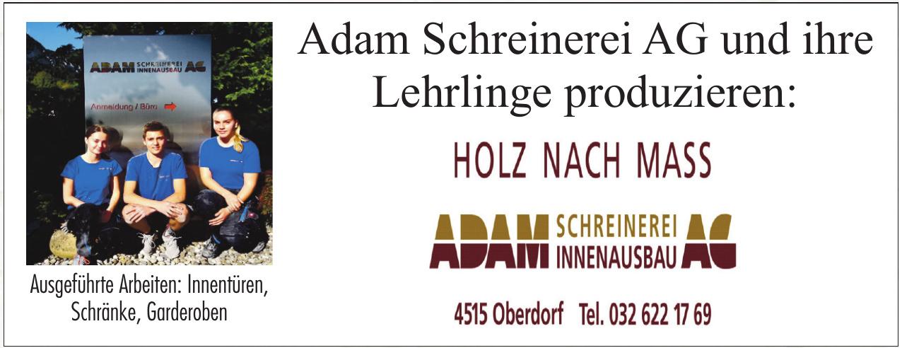 Adam Schreinerei AG