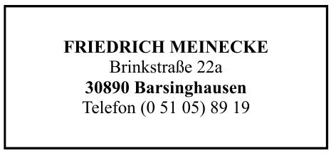 Friedrich Meinecke