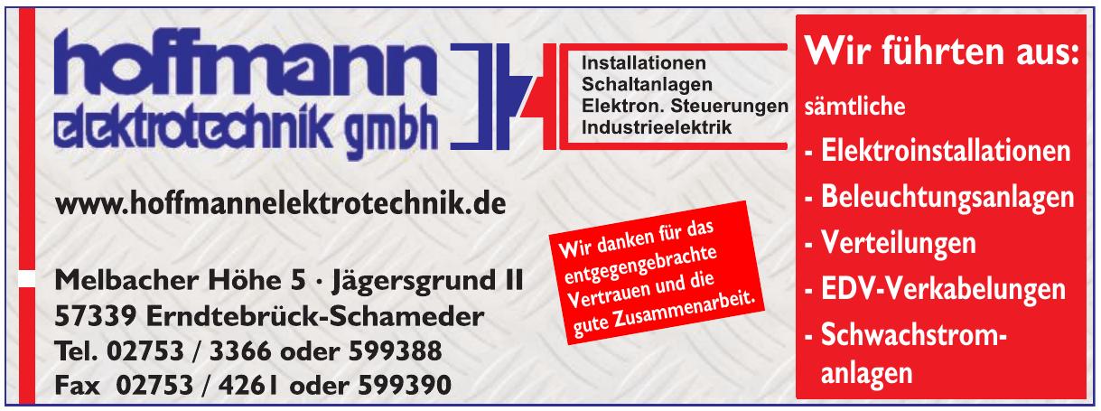 Hoffmann Elektrotechnik GmbH