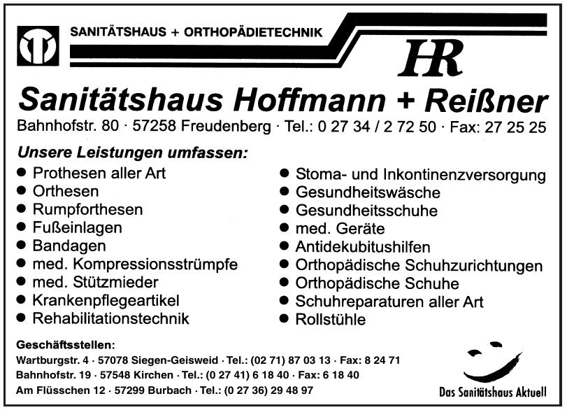 Sanitätshaus Hoffmann + Reißner