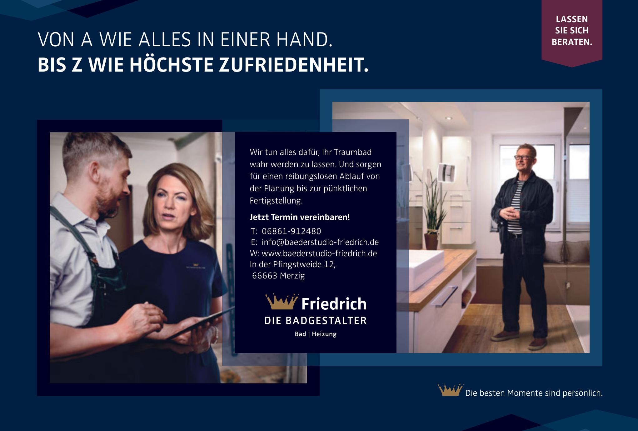 Bäderstudio Heiztechnik FRIEDRICH GmbH