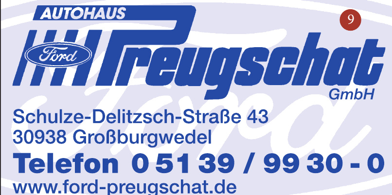 Autohaus Ford  Preugschat GmbH