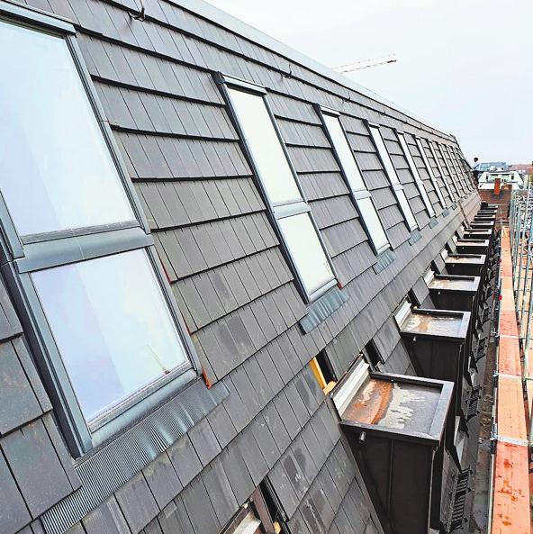 Dachfenster sorgen für Licht. Fotos: Privat