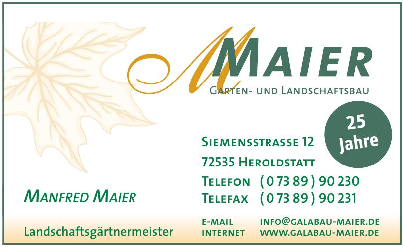 Maier Garten- und Landschaftsbau