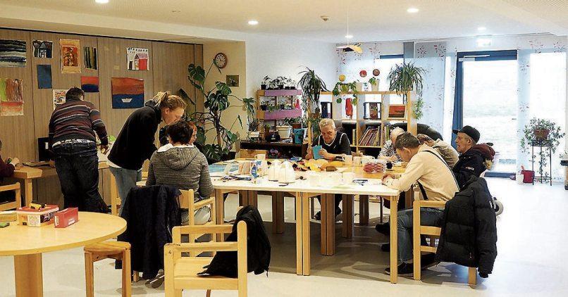 In der Bruderhaus-Diakonie erhalten die Menschen mit Behinderung optimale Unterstützung.