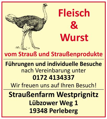 Straußenfarm Westprignitz