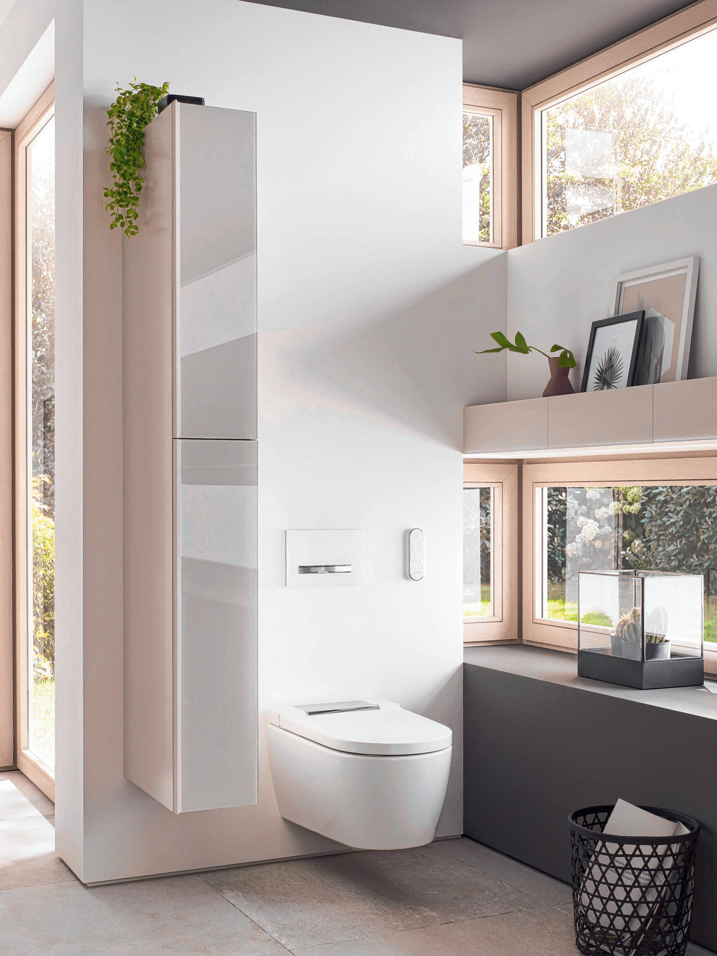 Föhn oder Sitzheizung machen den WC-Besuch komfortabler.
