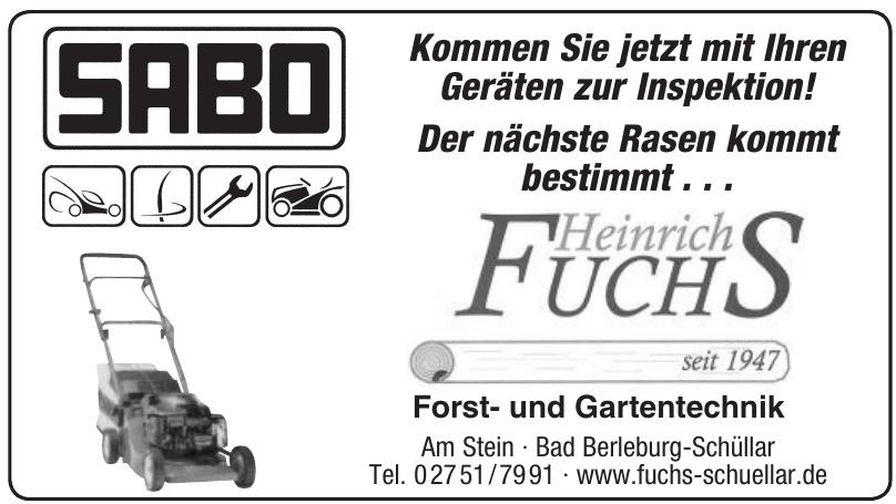 Heinrich Fuchs Forst- und Gartentechnik
