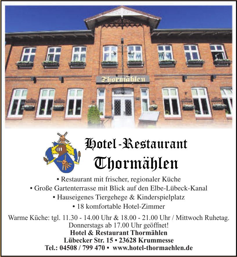 Hotel & Restaurant Thormählen